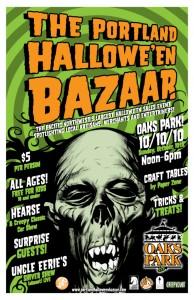 Portland Halloween Bazaar